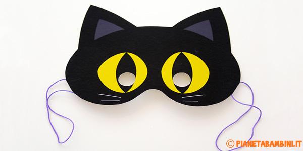 Maschere di Carnevale per bambini da stampare e ritagliare