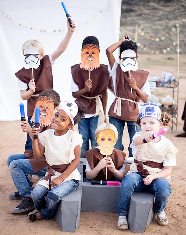 Maschere di Carnevale di Star Wars da stampare e ritagliare