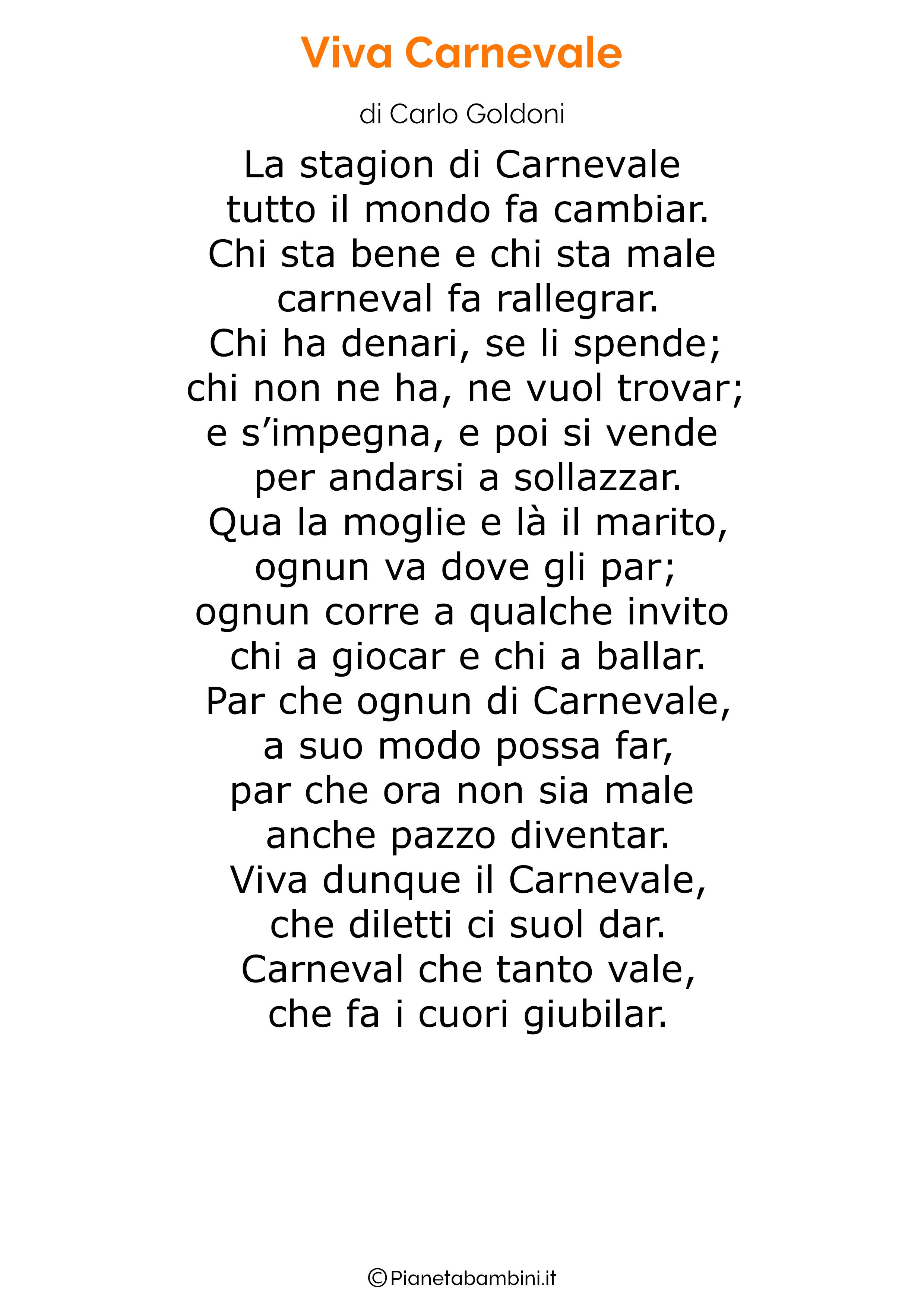 Poesie di Carnevale per bambini 18