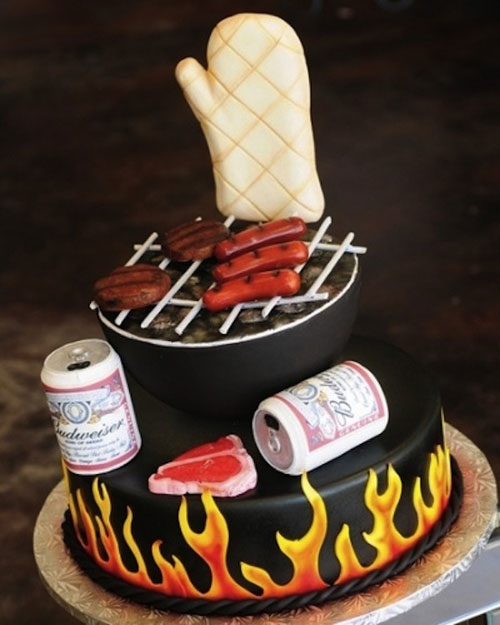Foto della torta per la festa del papà n.11
