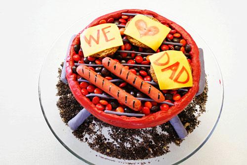 Foto della torta per la festa del papà n.12
