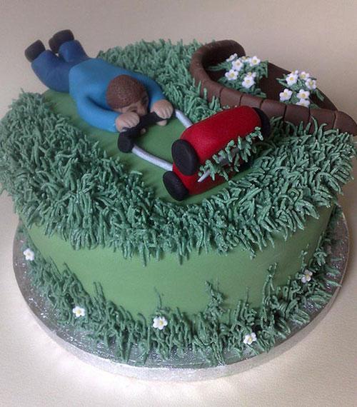 Foto della torta per la festa del papà n.19