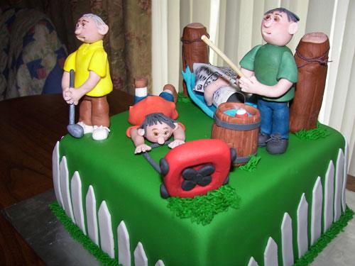 Foto della torta per la festa del papà n.20