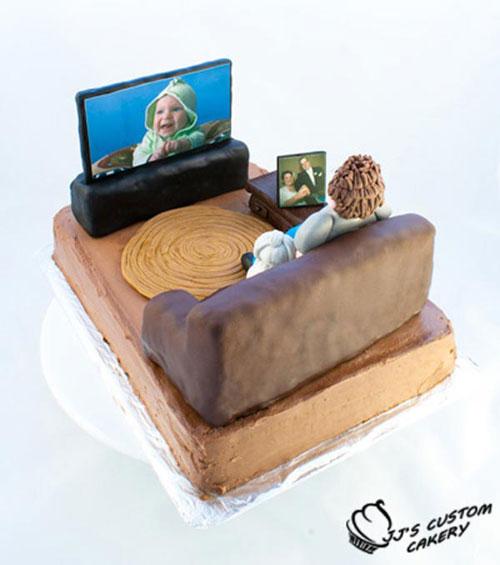 Foto della torta per la festa del papà n.21