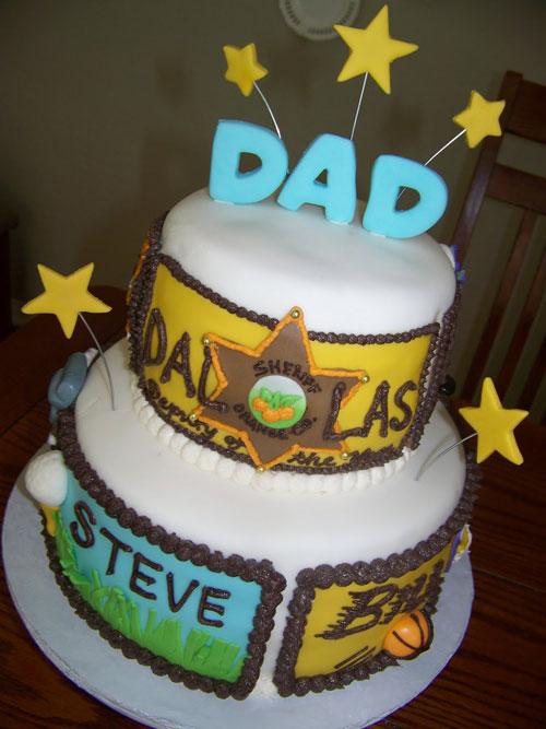 Foto della torta per la festa del papà n.22