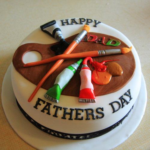 Foto della torta per la festa del papà n.24