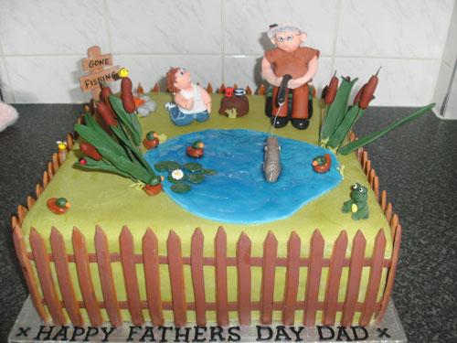 Foto della torta per la festa del papà n.25