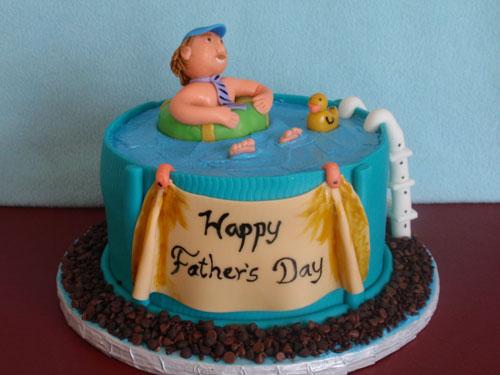 Foto della torta per la festa del papà n.26