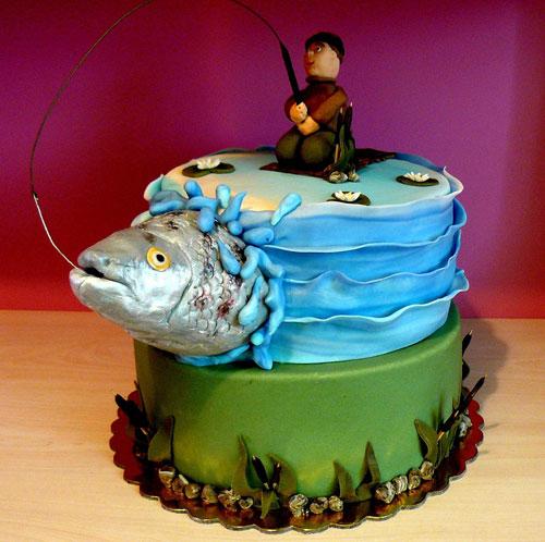 Foto della torta per la festa del papà n.27