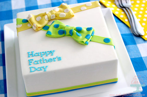 Foto della torta per la festa del papà n.28