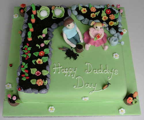 Foto della torta per la festa del papà n.31