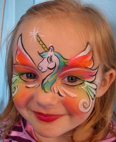 Immagine del trucco per il viso da My Little Pony