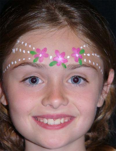 Immagine del trucco per il viso da principessa n.2