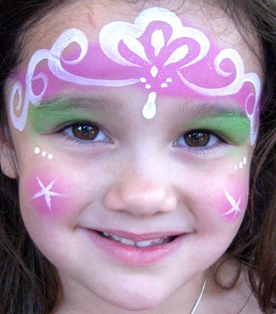 Immagine del trucco per il viso da principessa n.4