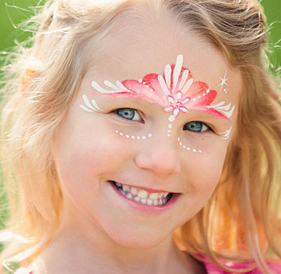 Immagine del trucco per il viso da principessa n.5