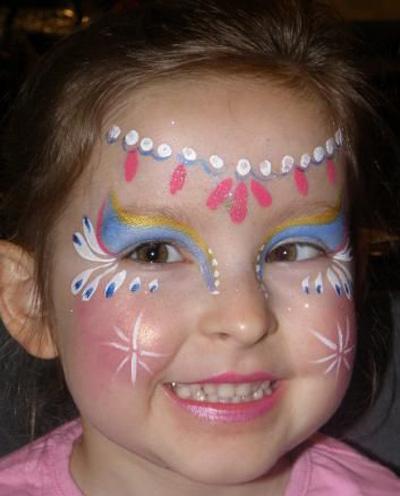 Immagine del trucco per il viso da principessa n.6