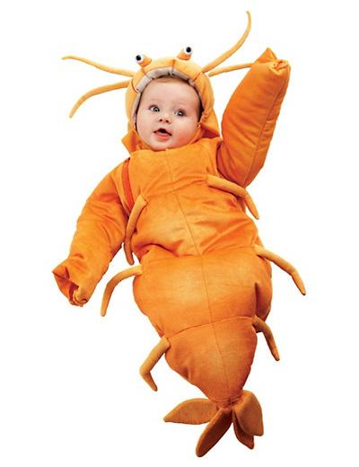 Immagine del vestito di Carnevale da aragosta