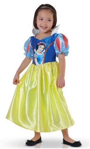 Immagine del vestito di Carnevale di Biancaneve