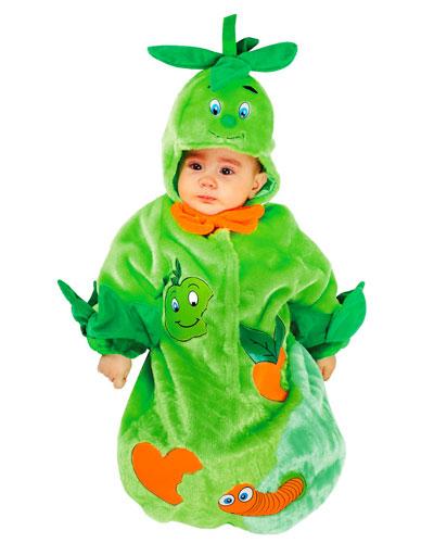 Costume da bruco per neonati