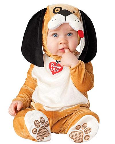 Costume da cane per neonati