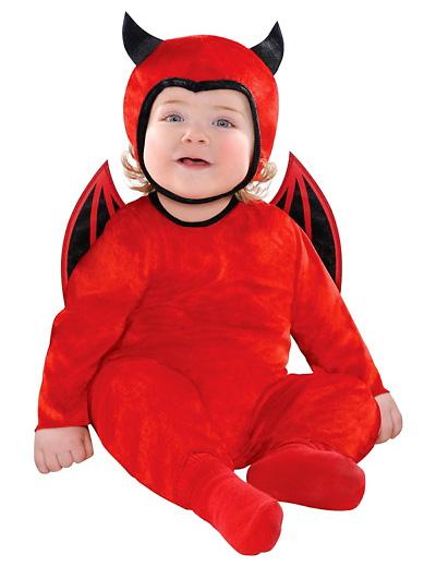 Immagine del vestito di Carnevale da diavoletto