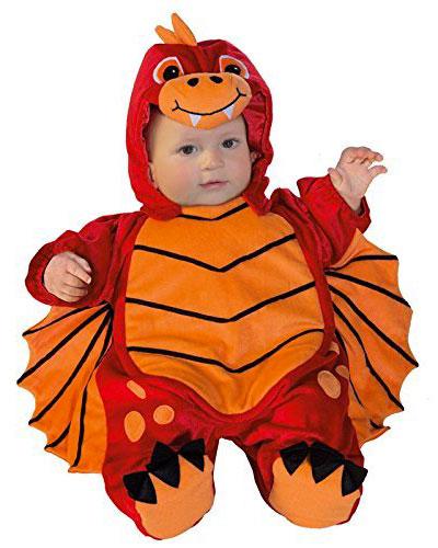 Costume da drago per neonati