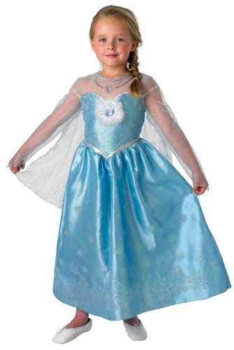 Immagine del vestito di Carnevale di Elsa (Frozen)
