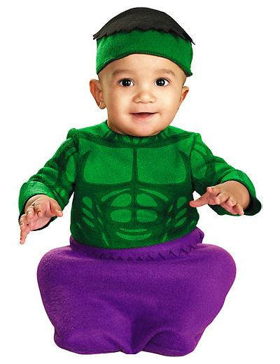 Immagine del vestito di Carnevale di Hulk