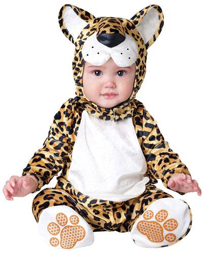 Costume da leopardo per neonati