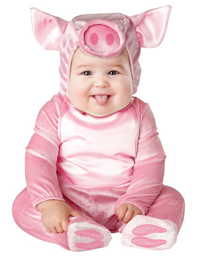Immagine del vestito di Carnevale da maialino