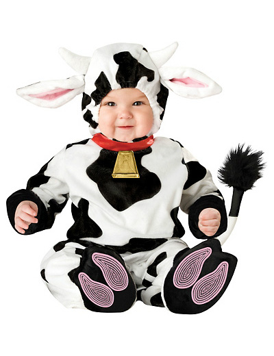 Immagine del vestito di Carnevale da mucca