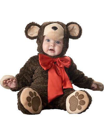 Immagine del vestito di Carnevale da orsetto