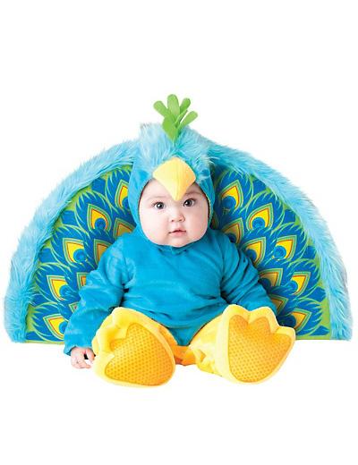 Immagine del vestito di Carnevale da pavone