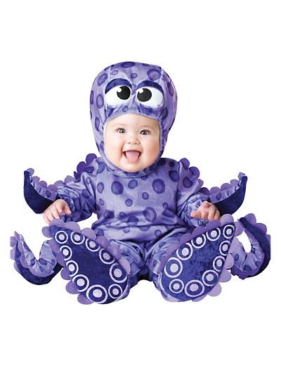 Immagine del vestito di Carnevale da polipo