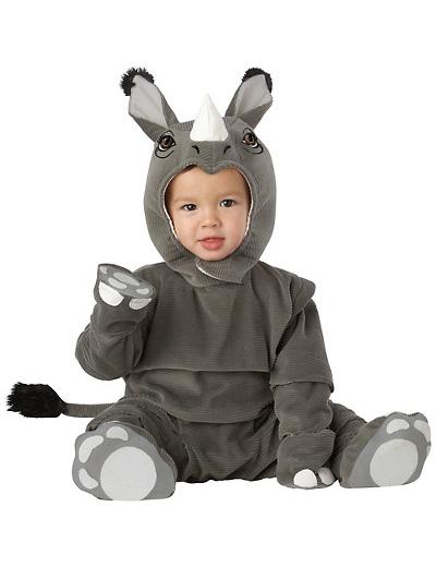 Immagine del vestito di Carnevale da rinoceronte