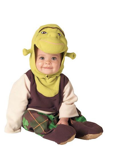 Immagine del vestito di Carnevale di Shrek