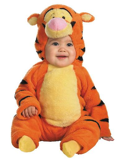 Immagine del vestito di Carnevale di Tigro di Winnie The Pooh