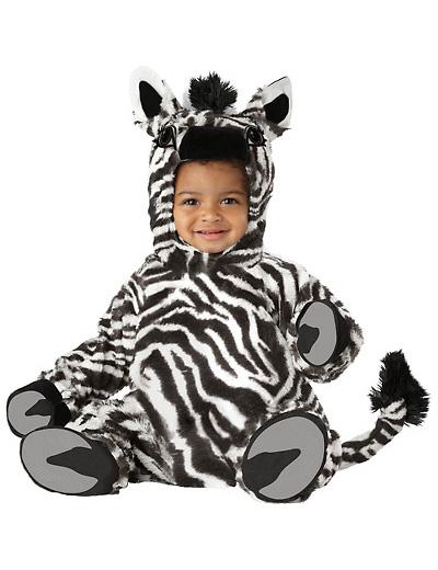 Immagine del vestito di Carnevale da zebra