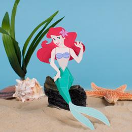 Foto della principessa Ariel di carta
