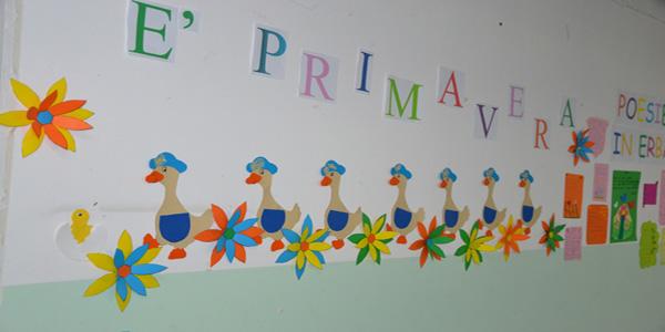 Addobbi di primavera per la scuola dell 39 infanzia e for Addobbi natale scuola primaria