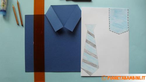 Come decorare la cravatta e il taschino