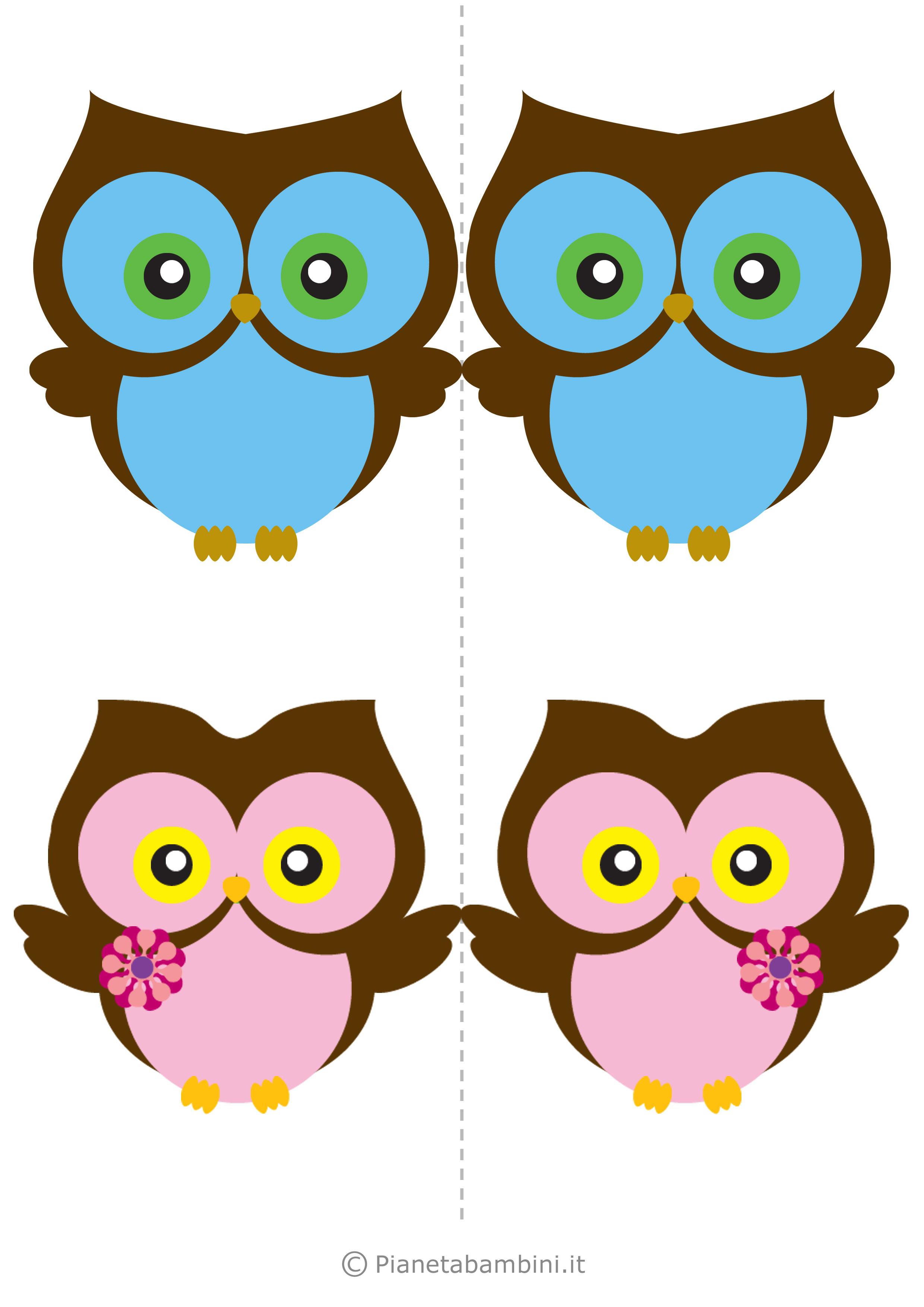 Uccelli colorati da stampare 12