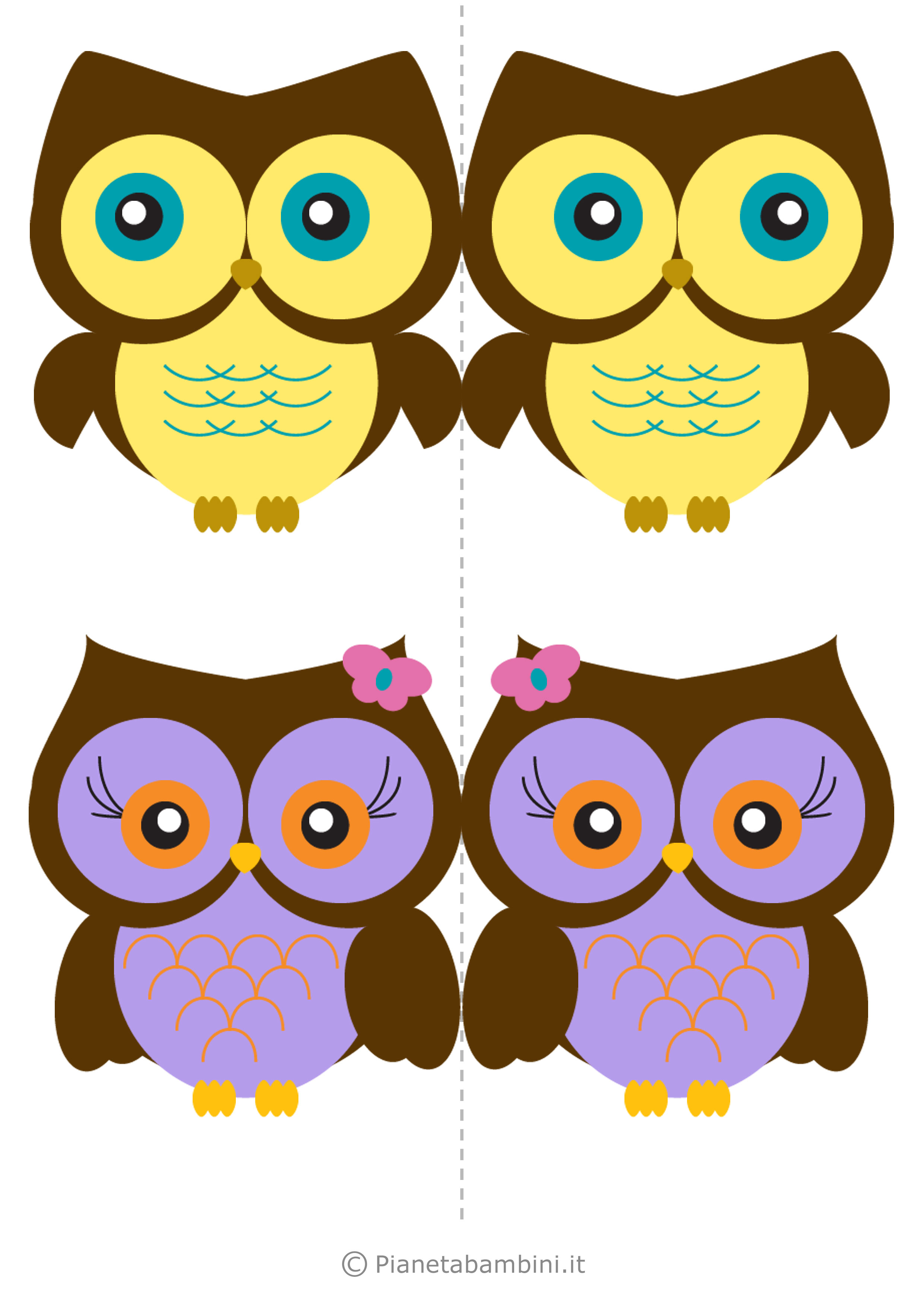 Uccelli colorati da stampare 13