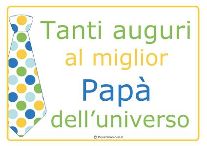 Immagine del diploma per la festa del papà n.5