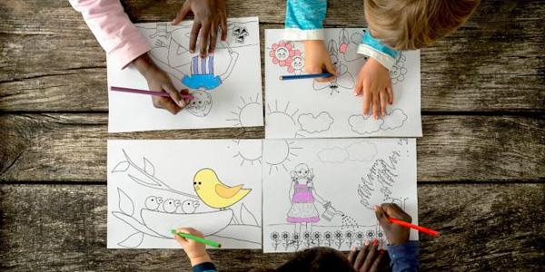 Disegni di di primavera da stampare e colorare