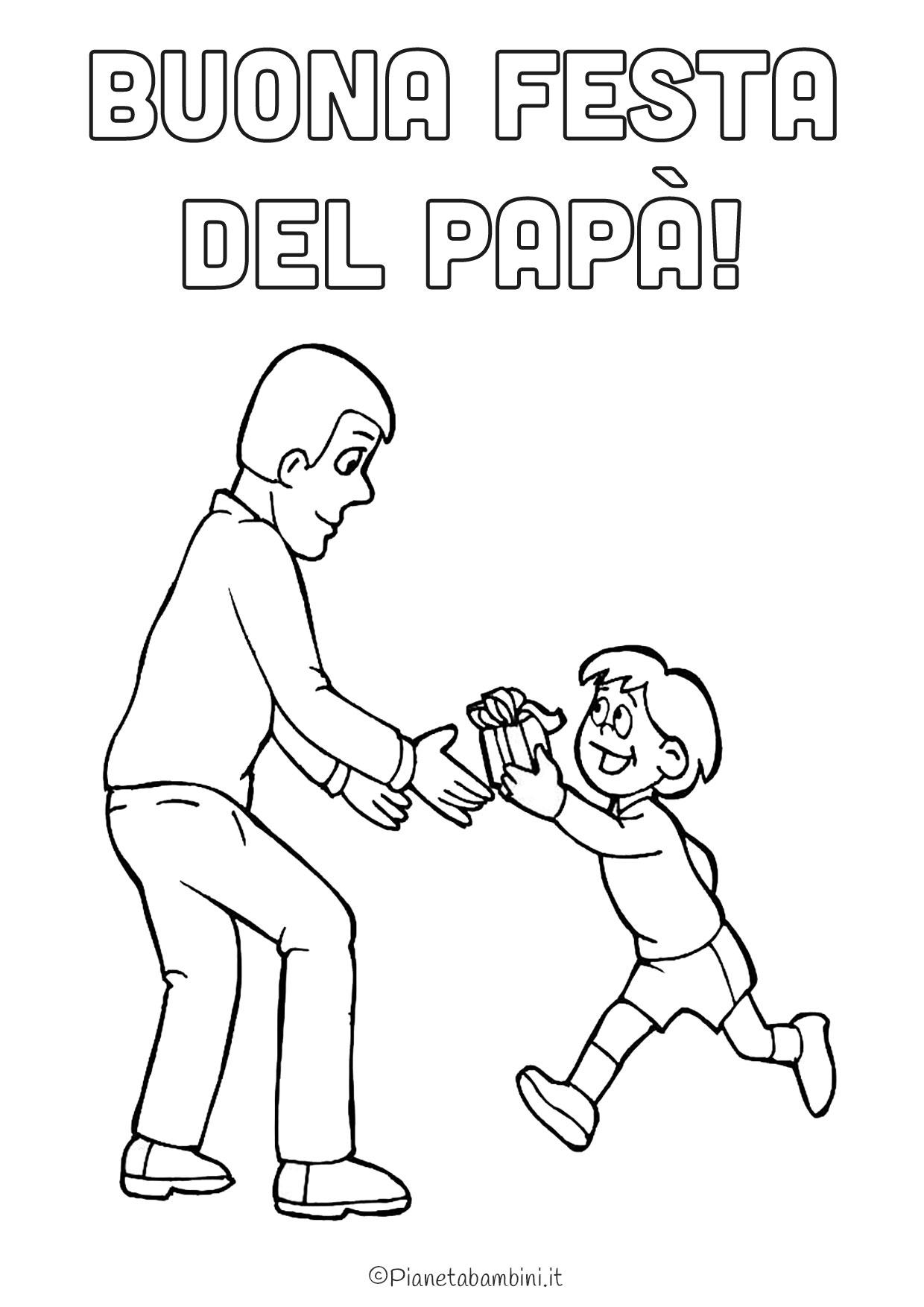 Disegni Da Colorare Di Festa Del Papa.45 Disegni Per La Festa Del Papa Da Colorare Pianetabambini It