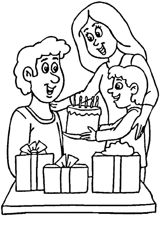 30 Disegni Per La Festa Del Papà Da Colorare Pianetabambini It