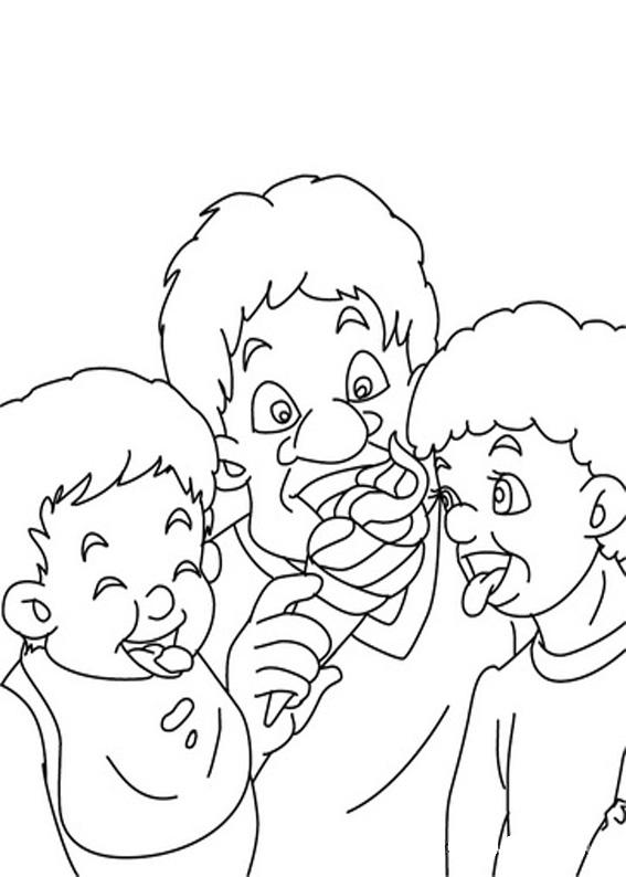 Disegno festa del papà da colorare 33