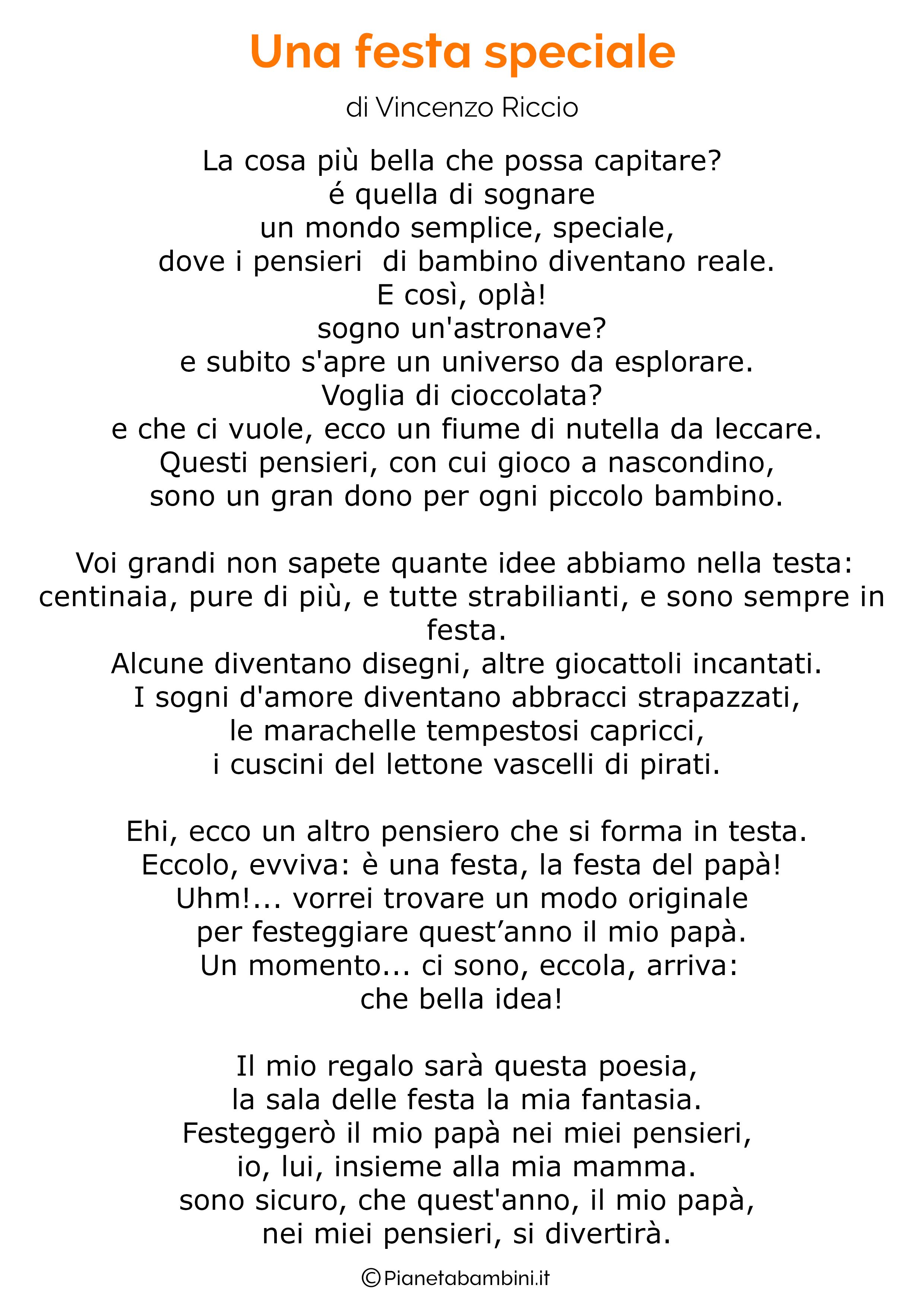 Poesia per la festa del papa per bambini 04