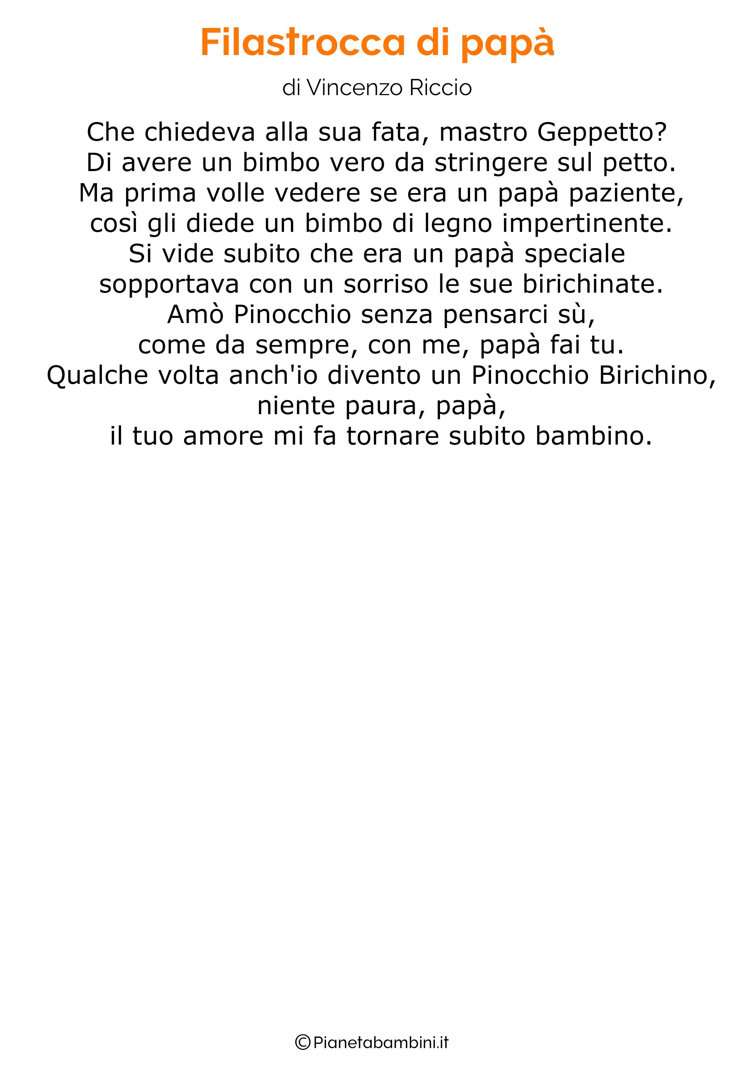 Poesia per la festa del papa per bambini 07
